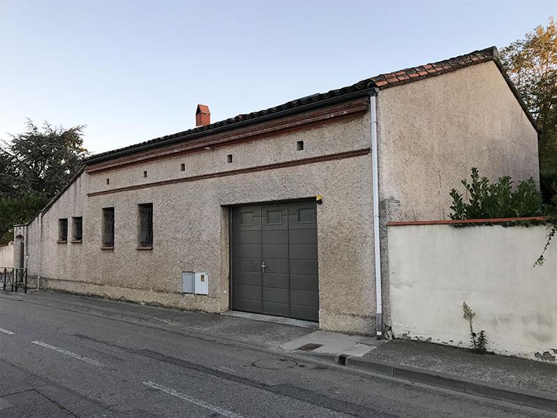 Reprise de façades de maison à Balma avant