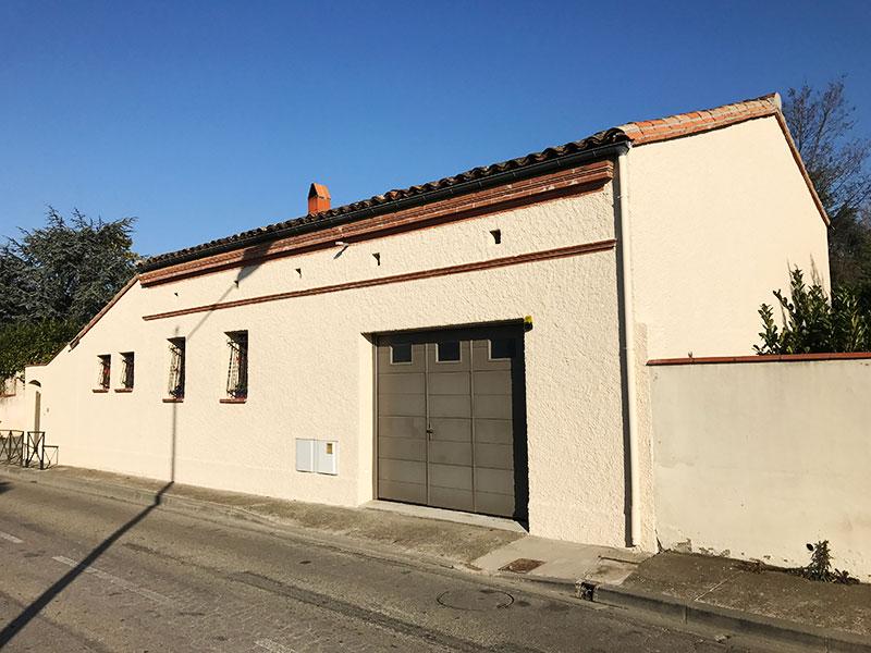 Reprise de façades de maison à Balma après