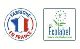 Les produits VERTIKAL® sont fabriqués en France et bénéficient de l'Ecolabel