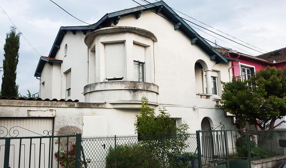 Reprise de façade de maison à Toulouse avant
