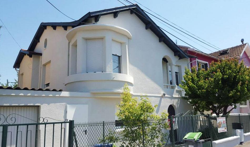 Reprise de façade de maison à Toulouse après