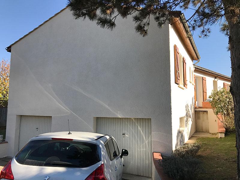 Rénovation de façades de maison à Roquettes après