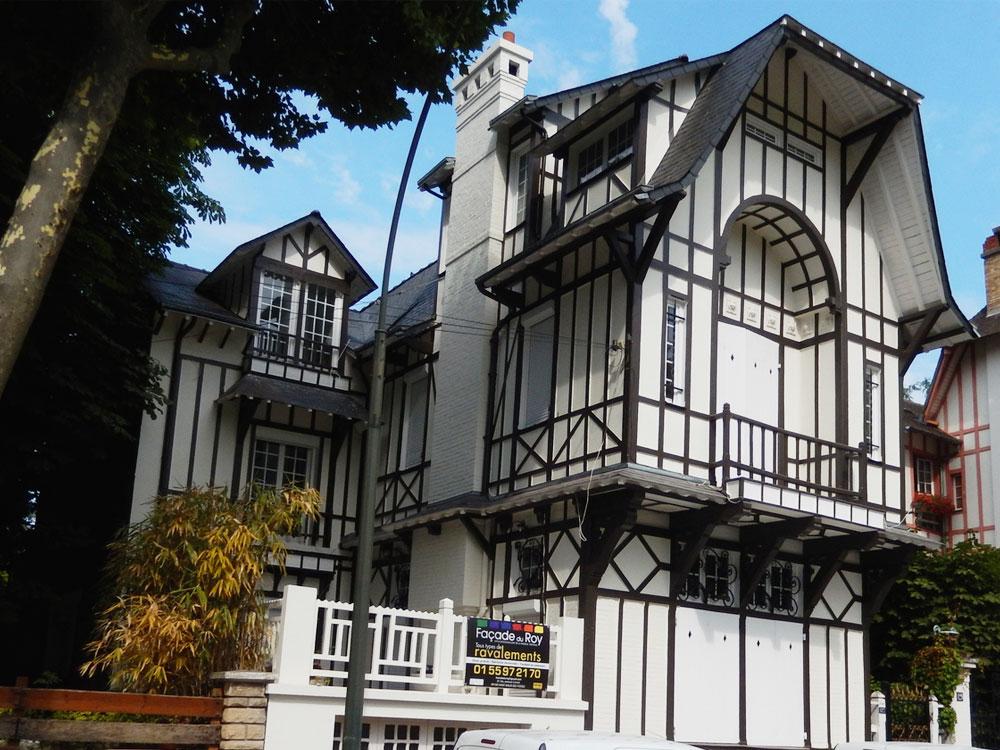 Rénovation d'une maison de villégiature Anglo-Normande 1920 à La Varenne-Saint-Hilaire après