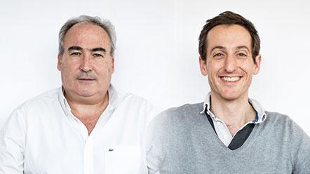 Dominique Ferré et Jérôme Kasser