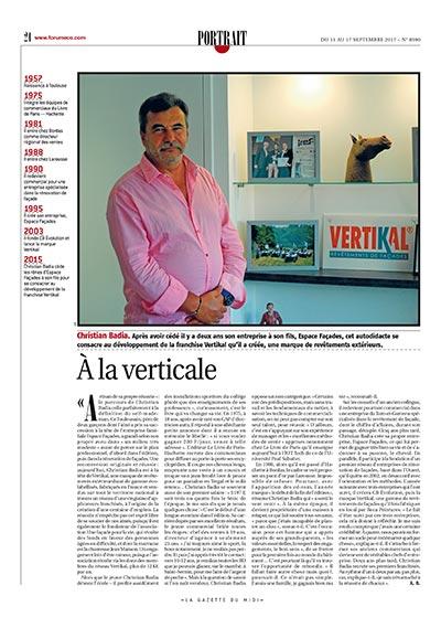 Gazette du Midi - Christian Badia