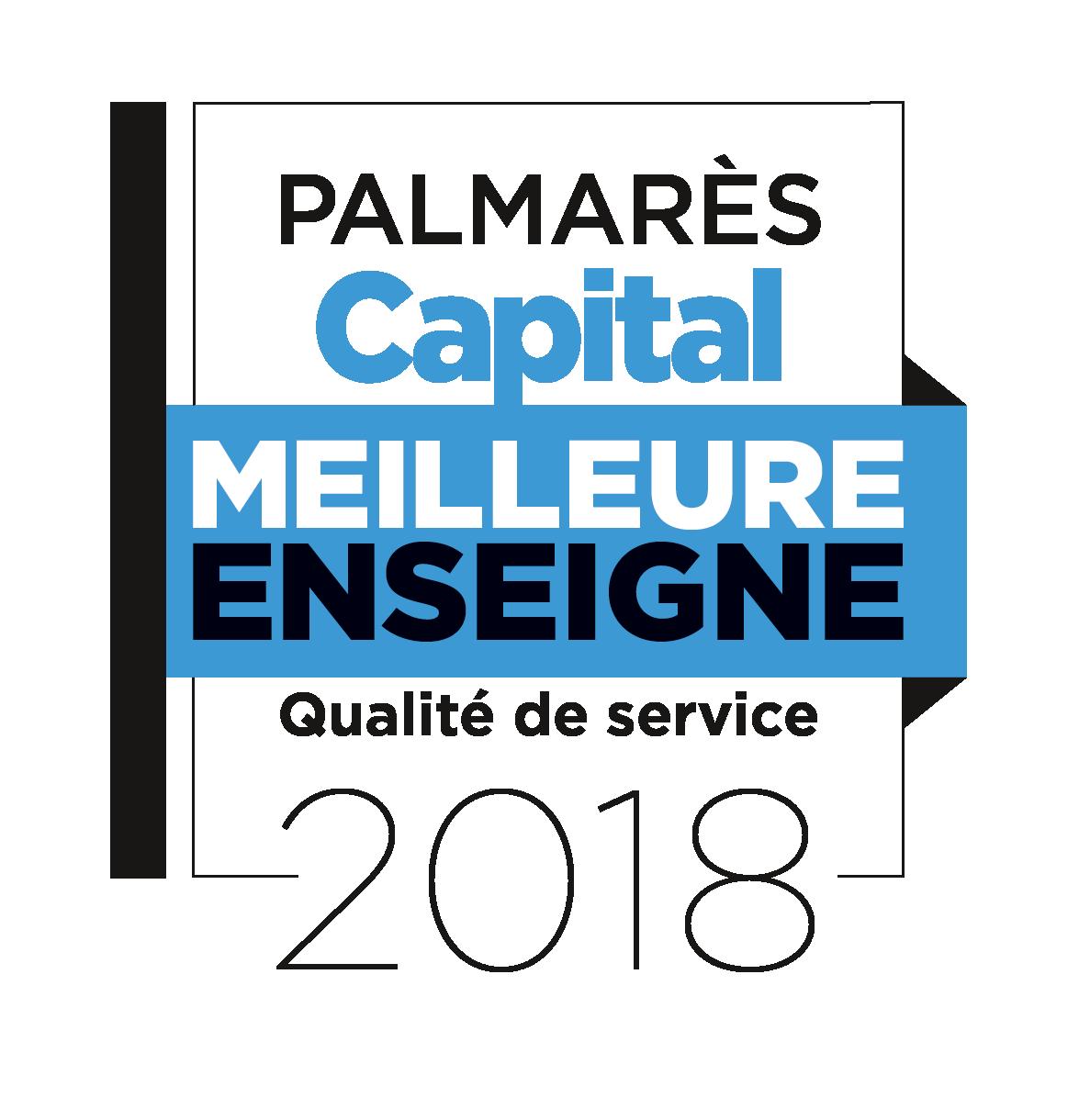 """Élue """"Meilleure Enseigne de France 2018"""", en """"Qualité de service"""", secteur """"Rénovation de l'habitat"""""""