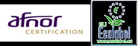 AFNOR Certification Europe a attribué aux revêtements VERTIKAL®, l'Ecolabel Environnemental en 2006.