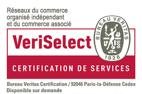 Bureau Véritas a certifié le fondateur du réseau VERTIKAL® en lui décernant la Certification de Service, VeriSelect en 2017.
